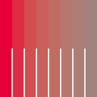 彩度の縁辺対比