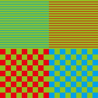 色相の同化現象