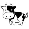 牧場の牛 - その1