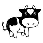牧場の牛 - その2