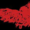 カスタムカーのための鷹のイラスト